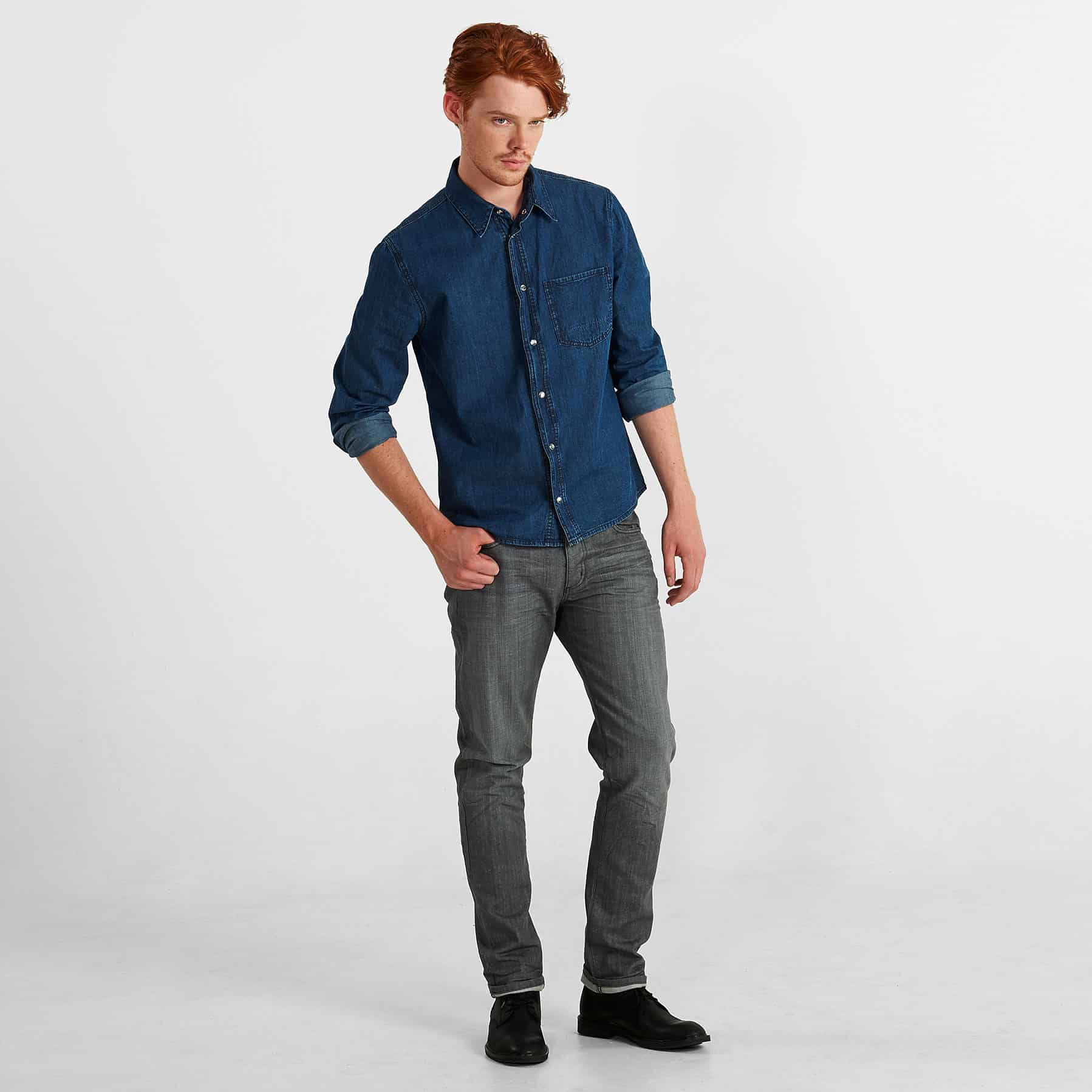 Vintage Laundry ARLO Jean – Washed Grey (MJ3001.S.12)