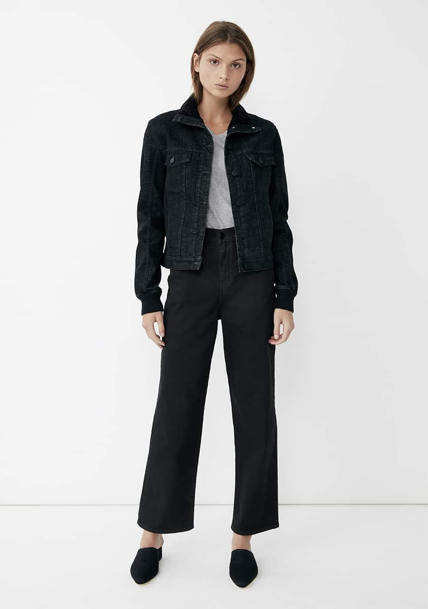 ETTA Jacket – Washed Black