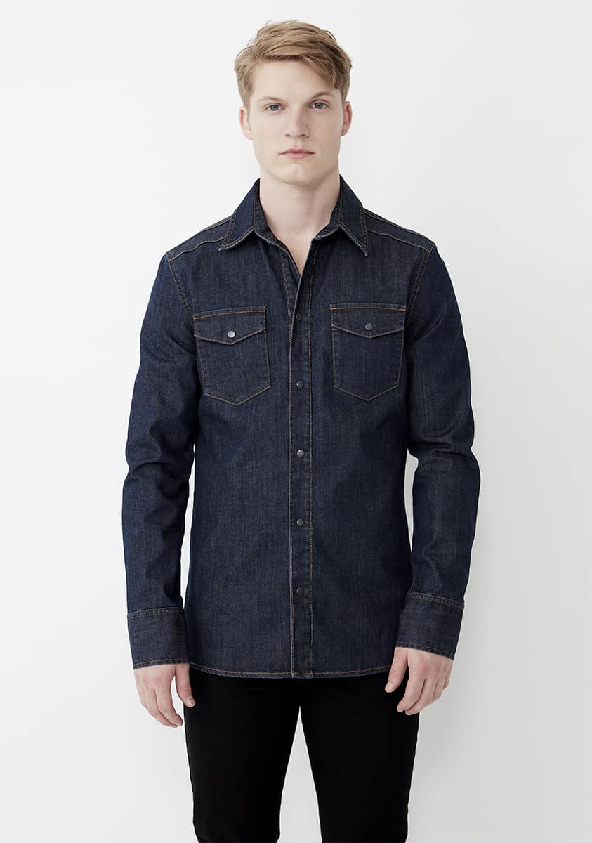 TEX Shirt – Indigo