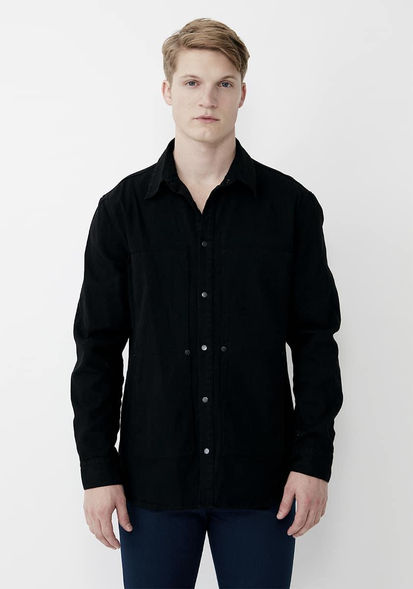 LIAM Shirt-Black