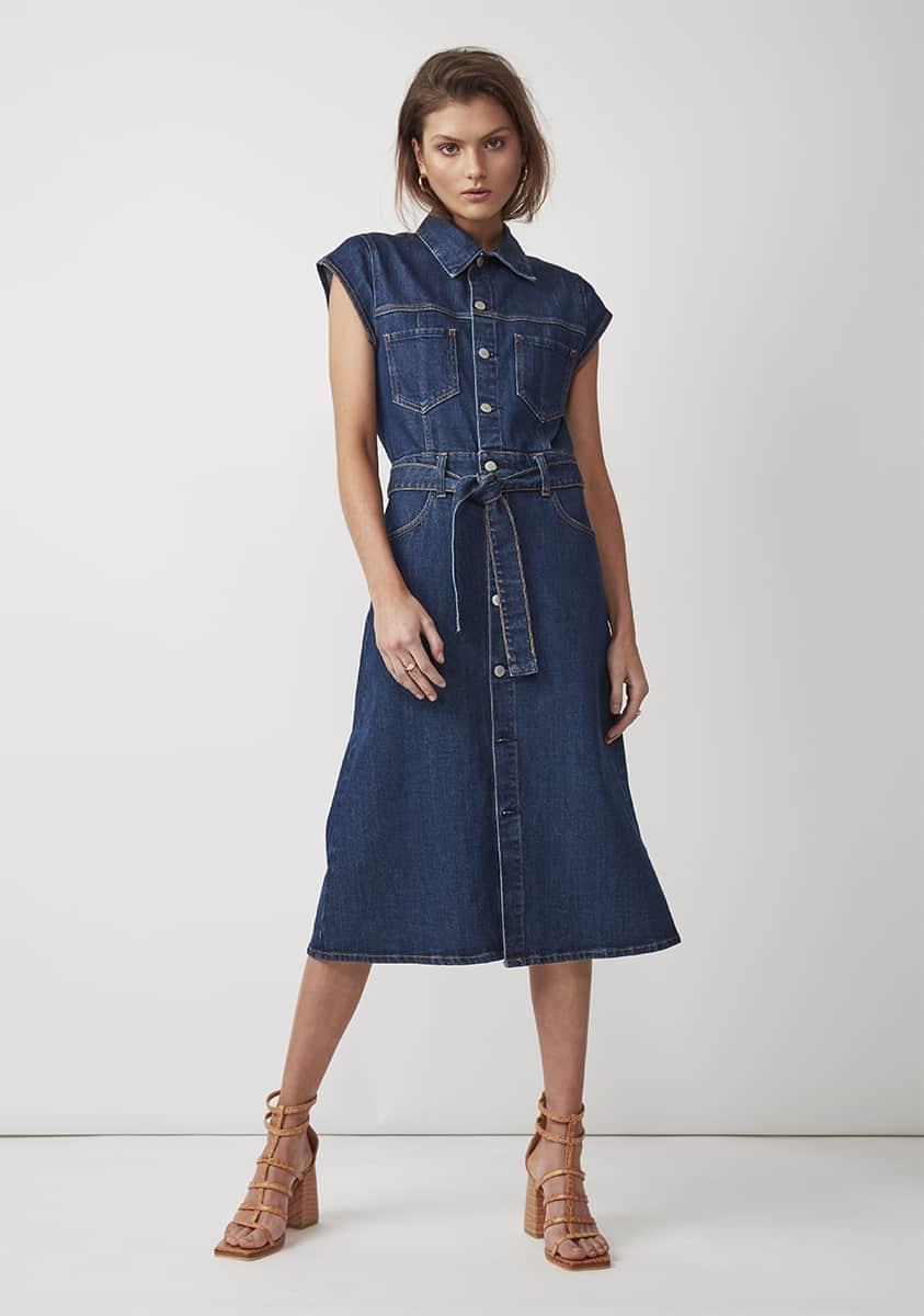 DARNEL Dress – Vintage Blue