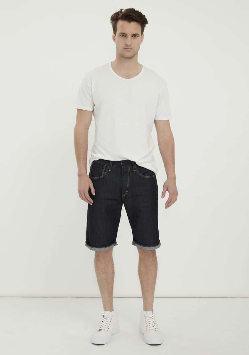 OLIVER Short-Dark Indigo