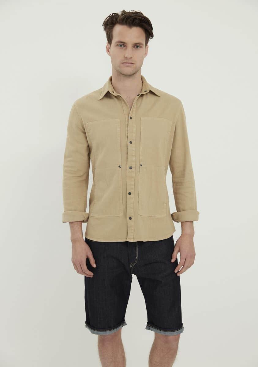 LIAM Shirt-Fawn