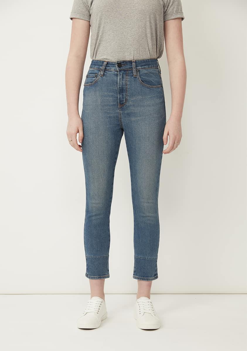 PIA Super Crop Jean-Tinted Indigo