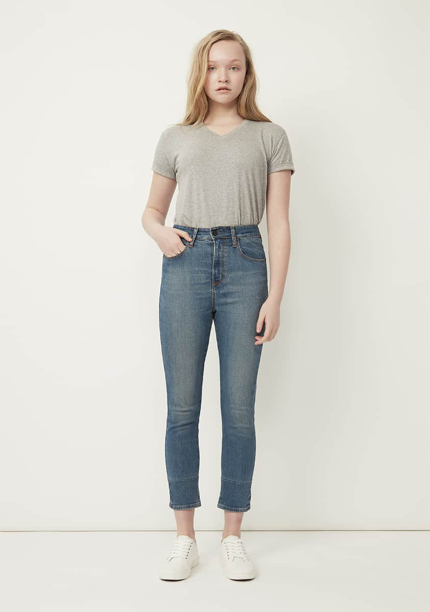 PIA Super Crop Jean-Tinted Indigo