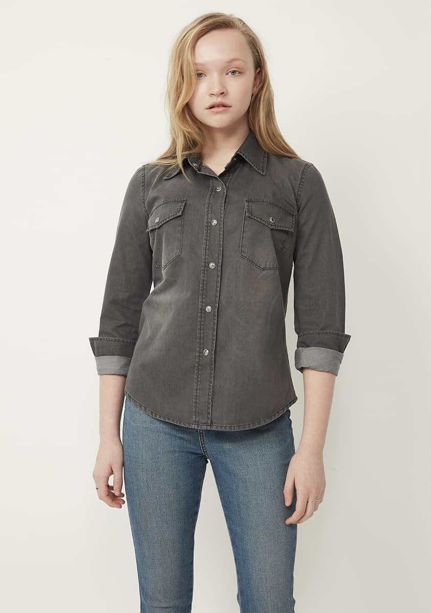 DREW Shirt – Washed Grey