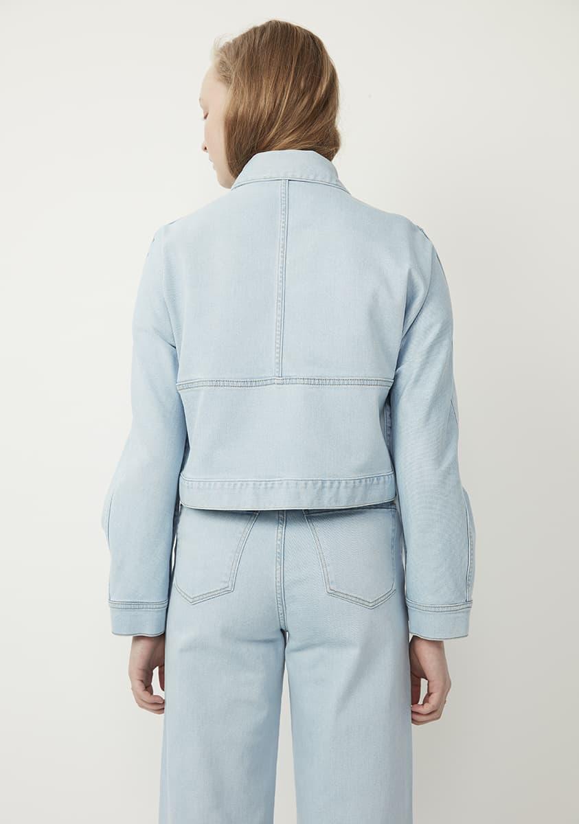 MARCELLA Jacket-Bleached indigo