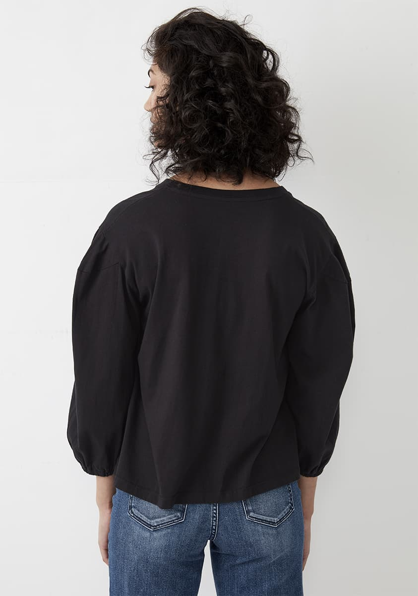 SASKIA Top-Black
