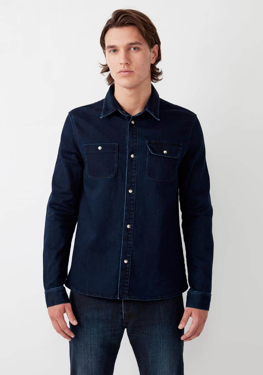 SAMSON Shirt-Blue