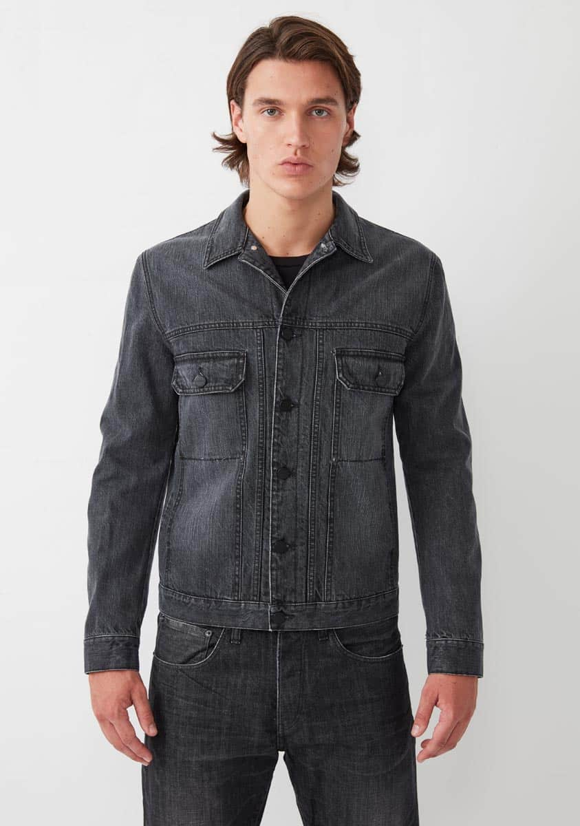 NASH Jacket-Worn Black