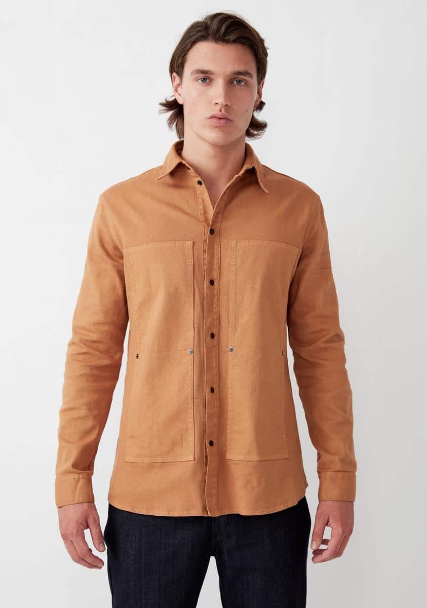 LIAM Shirt – Tobacco