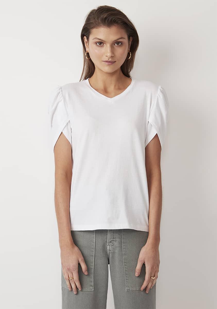 YASMIN Top-White