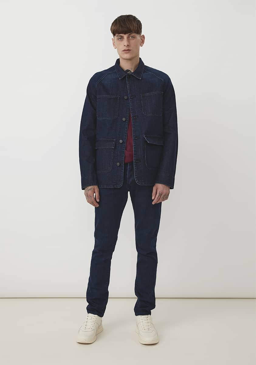 SILAS Jacket – Blue