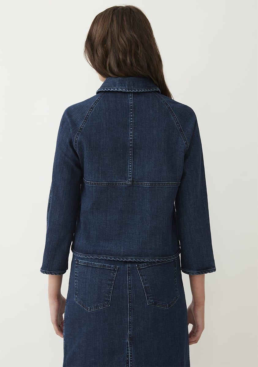 FREIDA Jacket - Mid Blue