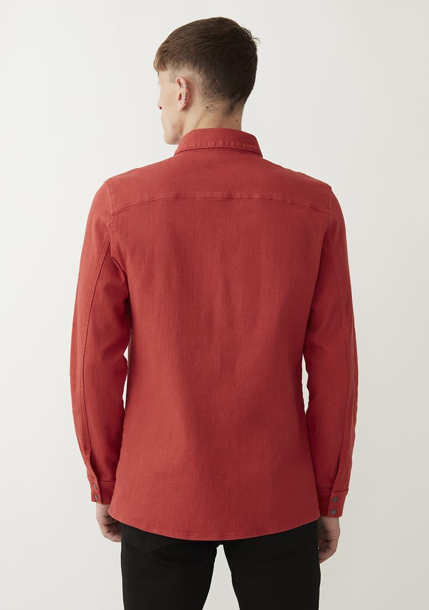 ASHTON Shirt-Sienna